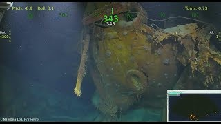 Wreck of USS Juneau Located by R/V Petrel Team