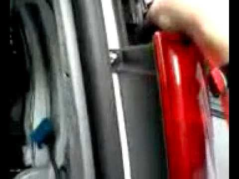 how to change Chevy express rear brake light bulb turn signal repair replace replacement