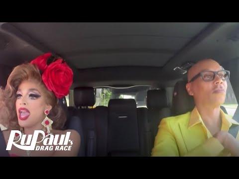 Drag Queen Carpool: Valentina | RuPaul's Drag Race Season 9 | Now on VH1!