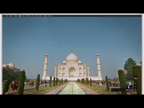 Explore the Taj Mahal with Google Maps
