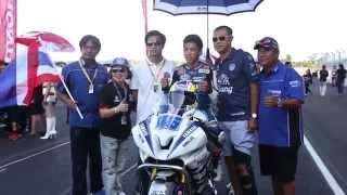ภาพข่าว Asia Road Racing (Supersports 600cc Race 2) 9-11-2014