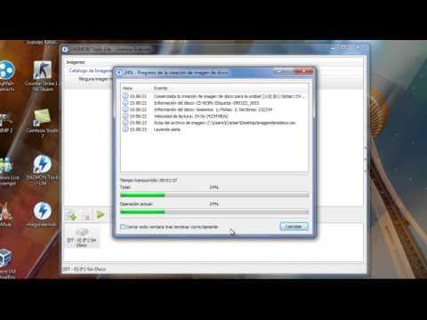 Tutorial - Crear imagen de disco ISO con Daemon Tools [HD][Español-España]