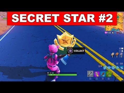 SECRET BATTLE STAR WEEK 2 SEASON 5 LOCATION! - Fortnite Battle Royale (Road Trip Challenges)