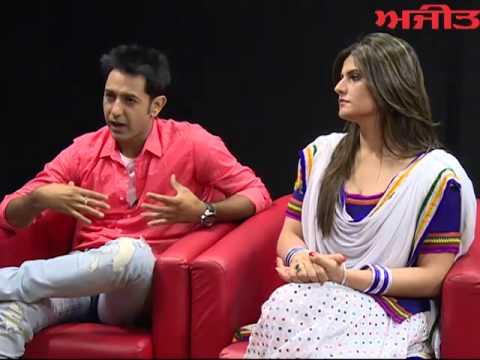 Spl. Interview With Bollywood Actress Zareen Khan &  Artist Gippy Grewal On Ajit Web Tv. video