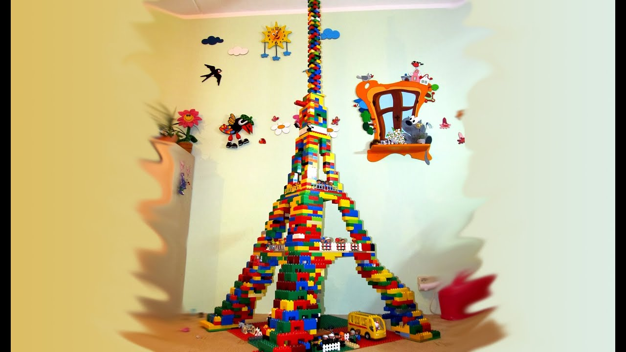 How To Build The Eiffel Tower With Legos