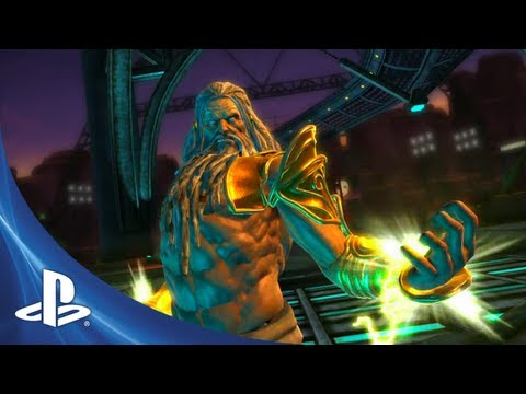 PlayStation All-Stars Battle Royale - Zeus Trailer
