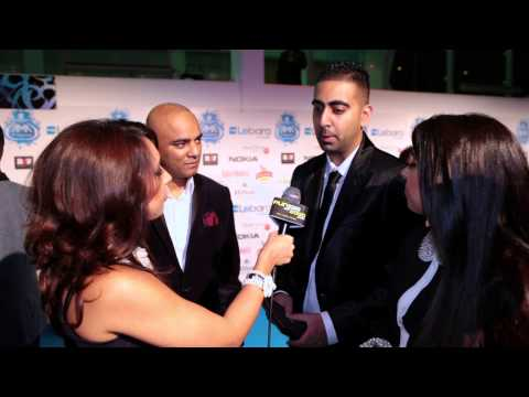 Punjab2000.com interview with Punjabi Hit Squad at the UK AMAs 2012