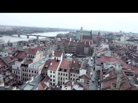 Warszawa Z Lotu Ptaka!