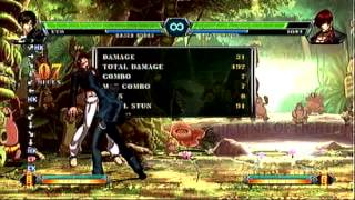 [KOF XIII] Kyo easy cross up