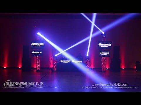 Power Mix DJ'S • DJ Gig Log Setup Time Lapse • Quinceañera en Richland WI 6.25.2016