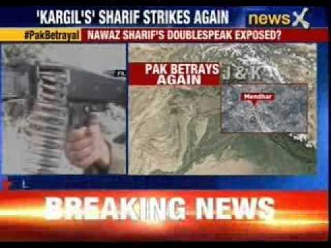 Pakistan violates ceasefire again in Jammu and Kashmir