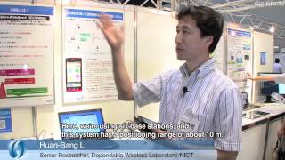 Indoor guidance system for the blind using a smartphone and UWB #DigInfo
