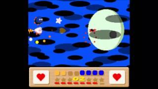 Kirby's Dreamland 3 SNES Dark Matter Boss With Gooey