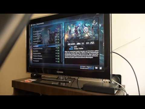 OpenElec Raspberry Pi Full HD 1080p