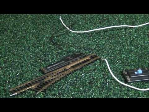 How To    Wire    An HO Atlas Snap    Switch     YouTube