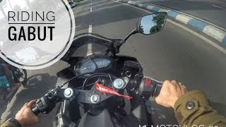 MOTOVLOG #2 - RIDING GABUT NYOBAIN R25