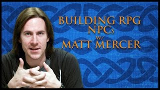 How To Create Non-Player Characters for RPGs (Game Master Tips)