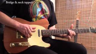 "Explaining and demoing the ""Walk of Life"" tapped Telecaster Pickups"