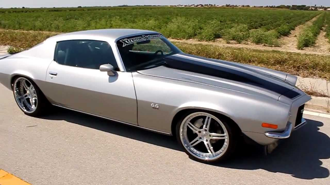 Strasse Forged Wheels 1972 Camaro Ss Youtube