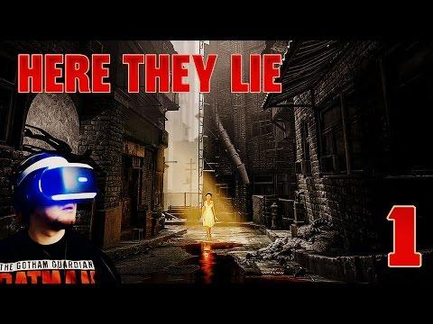 ВОТ ОН, САМЫЙ СТРАШНЫЙ VR-ХОРРОР ● Here They Lie [PS VR] #1
