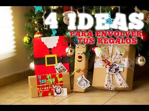 Diy 4 ideas originales para envolver tus regalos - Ideas originales para navidad ...