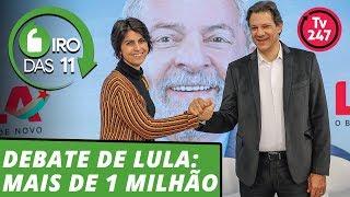 Giro das 11h: Lula fura a censura