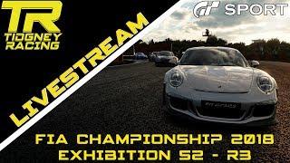[GT Sport Livestream] - FIA 2018 Exhibition Season 2 Round 3! Nations Cup