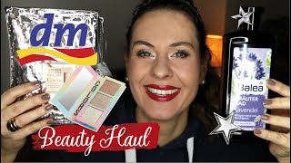 XXL DM HAUL 🛍 Drogerie Shopping 💄 Beetique HIGHLIGHTER 💋 BEAUTY 💦 Haushalt I Amelie with Love