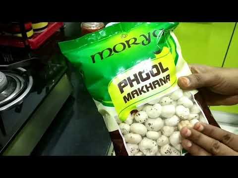 Phool Makhana Fry / Lotus Seed Roast
