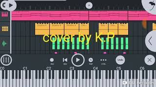 Bazzi  Beautiful piano and drum only in fl studio mobile
