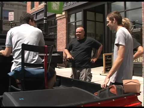 Danny Kean and the Traveling Piano, Bozeman Montana KTVM TV Newscast