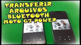 Como Transferir Arquivos (Fotos, Vídeos, Músicas) Através do Bluetooth no Motorola Moto G7 Power