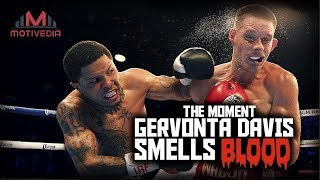 The Moment GERVONTA DAVIS Smells BLOOD