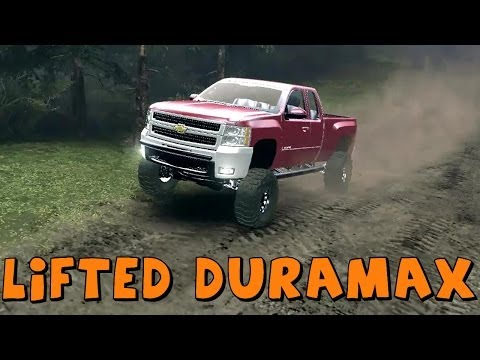 Spin Tires | Mod Review | Chevy Silverado 2500HD Duramax Diesel | Download Link In Description