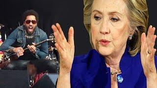 Hillary Clinton and Lena Dunham Discuss Lenny Kravitz's Penis