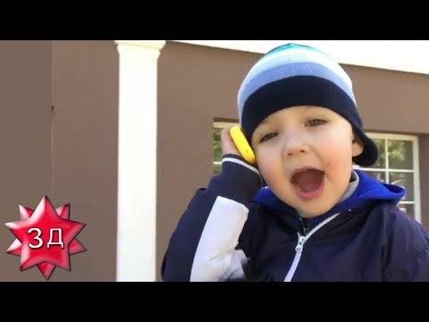 New! ДЕТИ ПУГАЧЕВОЙ И ГАЛКИНА: Гарри на плечах у Максима Галкина разговаривает с мамой!