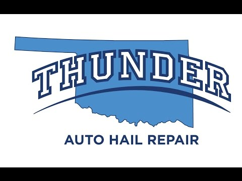 Thunder Auto Hail Repair. Auto Hail Damage Repair OKC. Moore. Oklahoma