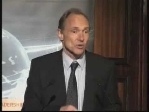 Sir Tim Berners-Lee (part 1) on the future world wide web
