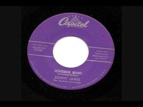 Sonny James - Lovesick Blues Lyrics