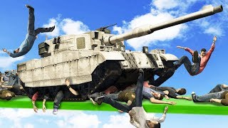 NEVER FIGHT A TANK! (GTA 5 Funny Moments)