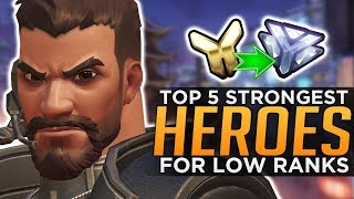 The BEST Overwatch Heroes for Low Ranks!