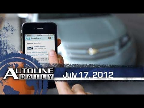 OnStar Starts Car Share Program - Autoline Daily 929