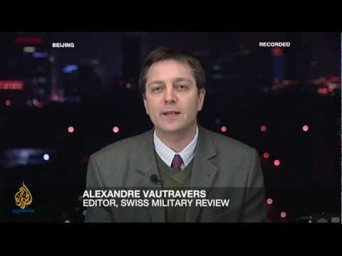 SIPRI Expert Pieter Wezeman on Inside Story - Who benefits from global arms deals - March 2012