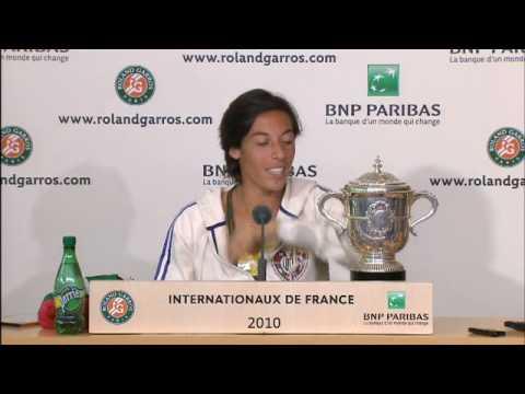 Roland Garros 2010 - Day 14 - Francesca Schiavone