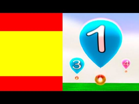 Spanish numbers 1-20, learning Spanish with kids
