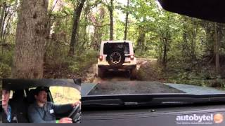 2015 Jeep Renegade Trailhawk 4x4 Off-Road Mud Crawl Test Drive Video