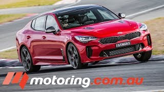 2017 Kia Stinger GT Review | Australian Launch | motoring.com.au