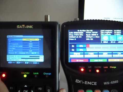 satlink ex´lence 6960 DVBS-2 localizador satelite finder!