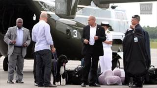 TRIFECTA - Go, Dog Go! The Obama Family Dog Gets Airlifted to Martha's Vineyard at Taxpayer Expense
