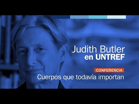 """Conferencia completa de Judith Butler: """"Cuerpos que todavía importan"""""""